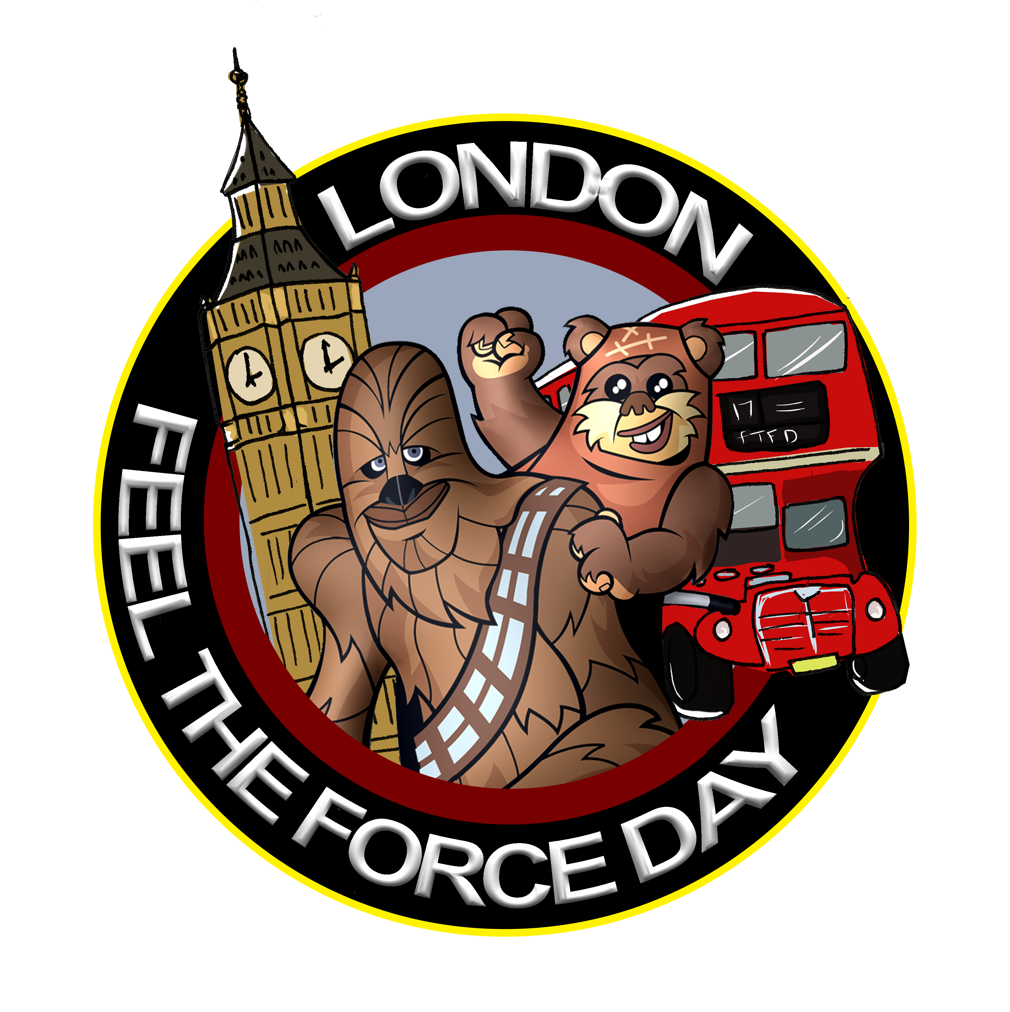 Feel the Force Day London Logo