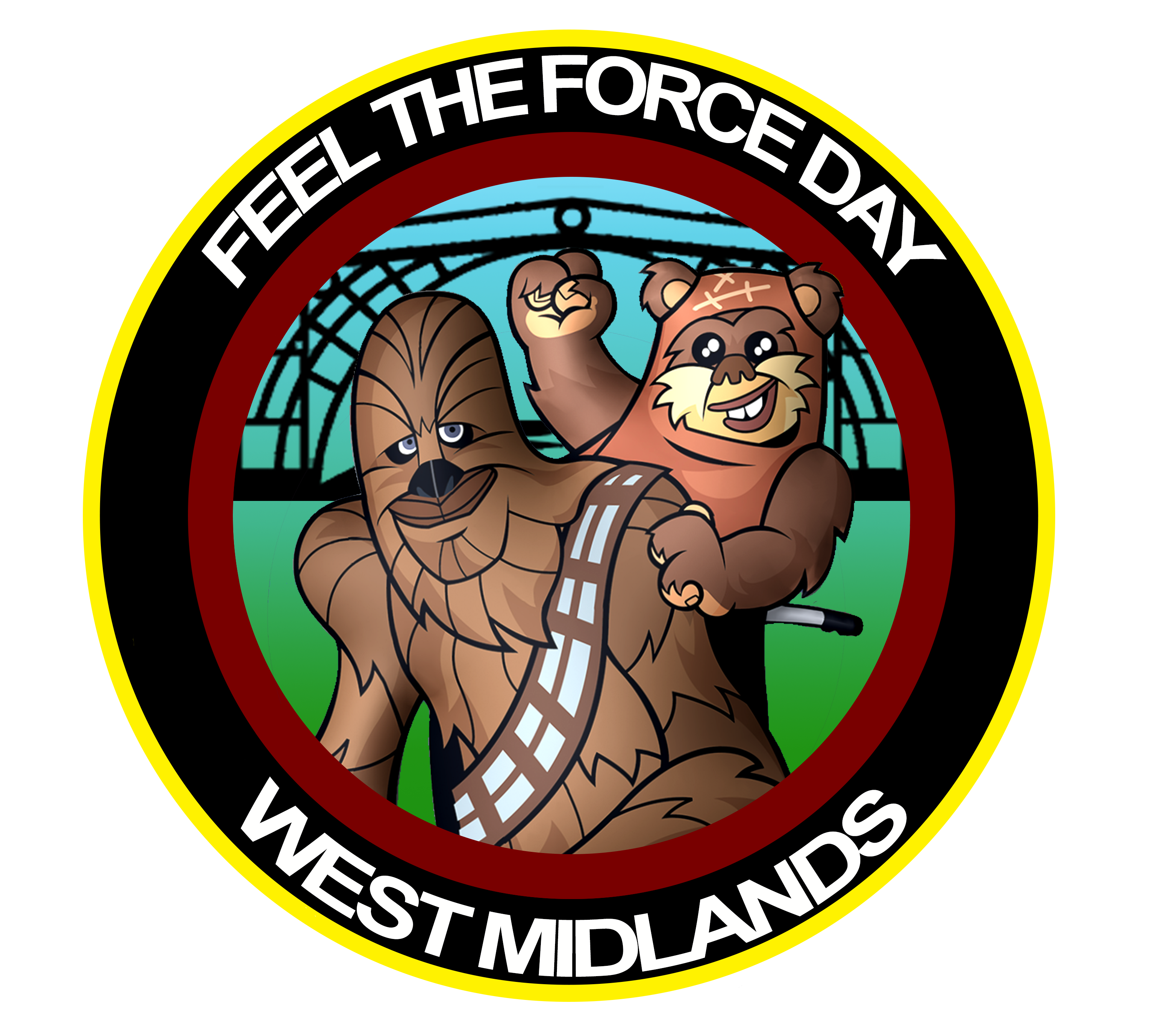 Feel the Force Day General Logo